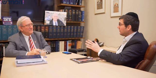 """עסקת המאה: מארק צל בראיון ל'המחדש' - """"לטראמפ יש לו""""ז משלו מי שלוחץ עליו, מחוסל"""""""
