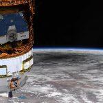 """תיעוד מיוחד: ליקוי חמה מגובה 300 ק""""מ מכדור הארץ"""