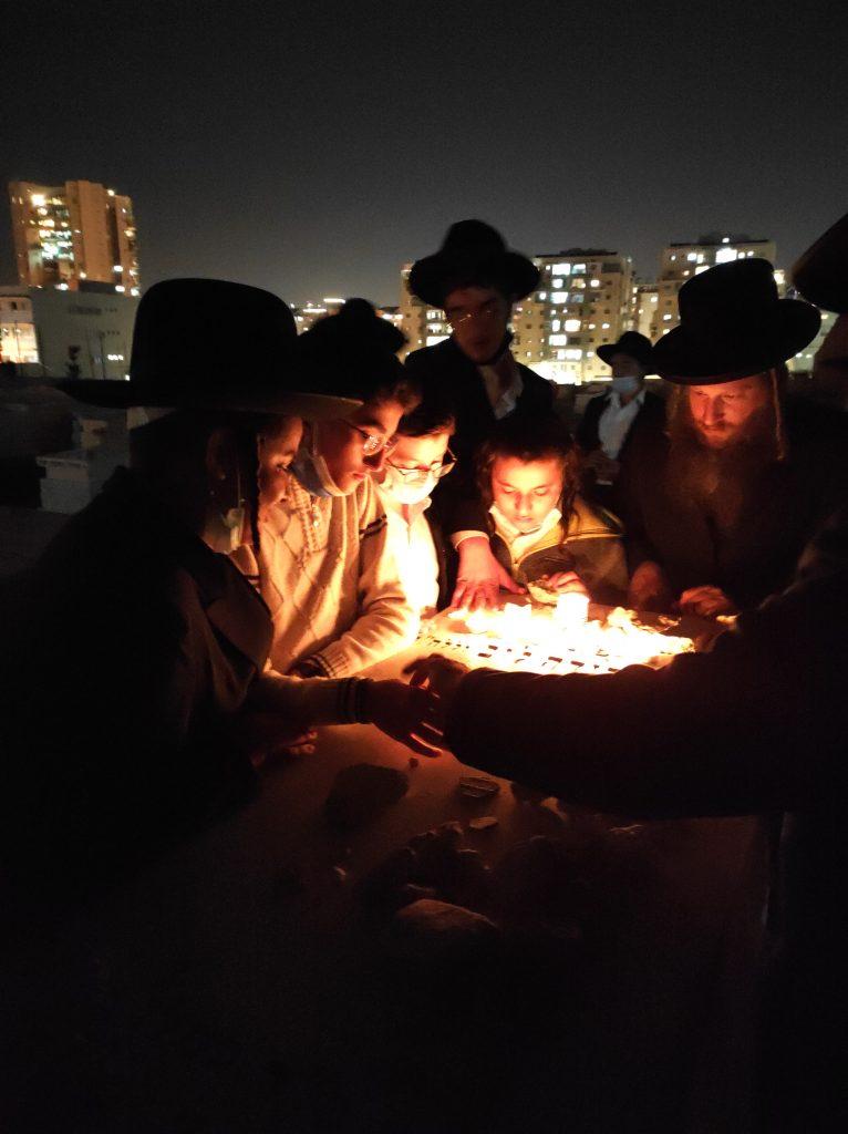 """תיעוד: הילדים מראשון לציון הגיעו לרשב""""ם"""