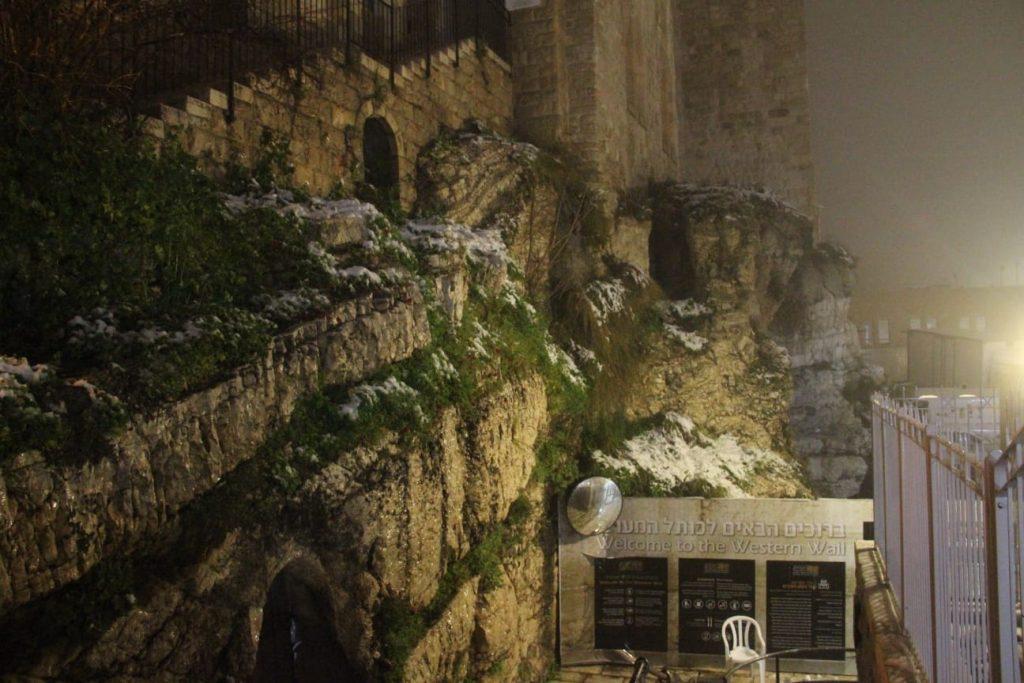 ירושלים מושלגת: סיכום של הצלם דוד קשת