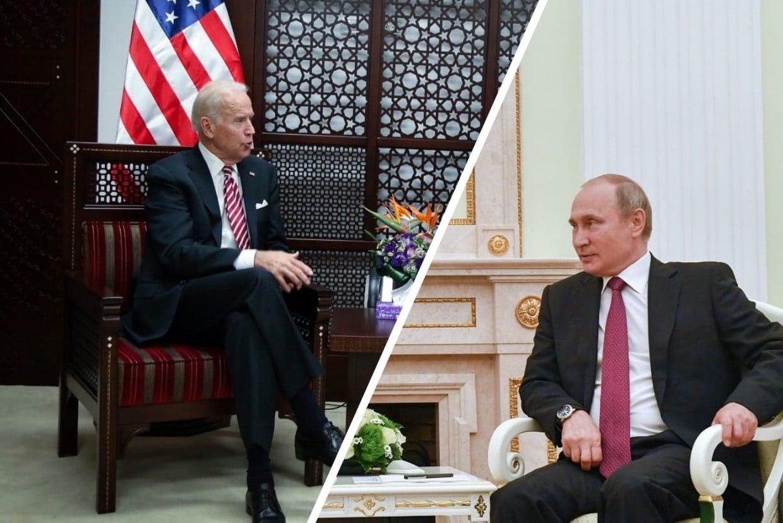 """פוטין ביידן ארה""""ב רוסיה"""
