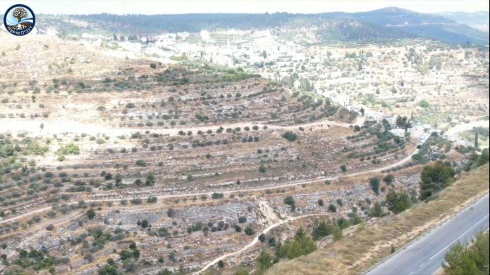 """השתלטות בזמן אמת: הרשות הפלסטינית """"חונקת"""" את הר גילה"""