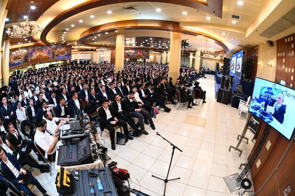 גלריה מרגשת: אלפי תלמידים העולים לישיבות גדולות התחזקו לקראת זמן אלול