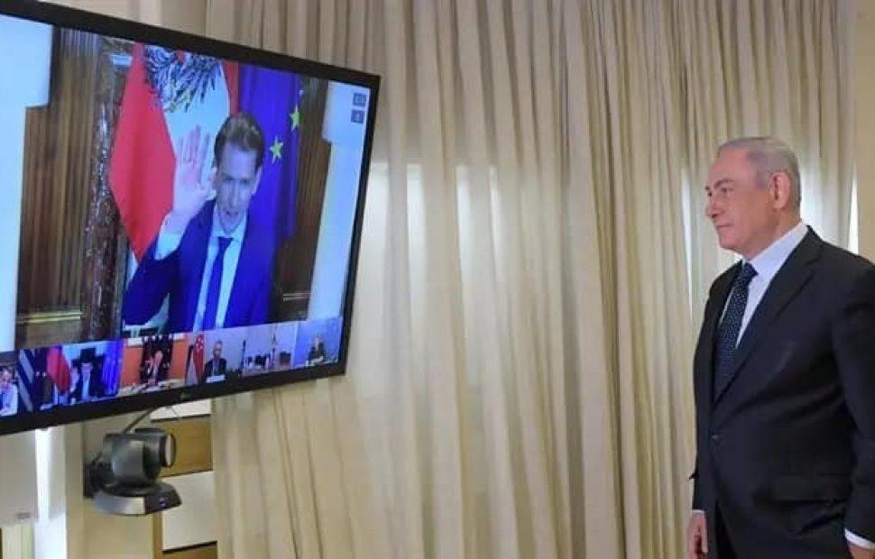 נתניהו בשיחה עם מנהיגים בגל הראשון - עכשיו תור ישראל ללמוד מהעולם |צילום: עמוס בן גרשום/לע״מ
