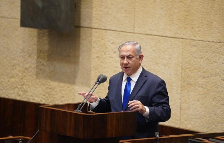 ראש הממשלה נתניהו במליאת הכנסת | צילום: דוברות הכנסת - שמוליק גרוסמן
