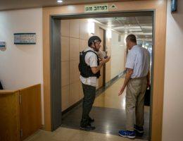 מתוך תרגיל הגנה אזרחית ארצי שבוצע גם אף במשמר הכנסת (אילוסטרציה). צילום יונתן סינדל / פלאש 90