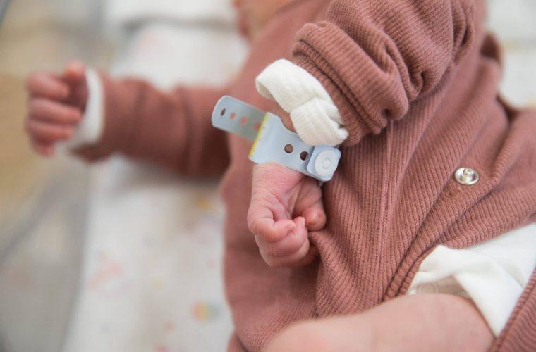 תינוק במחלקת יולדות שערי צדק (אילוסטרציה) Hadas Parush/Flash90