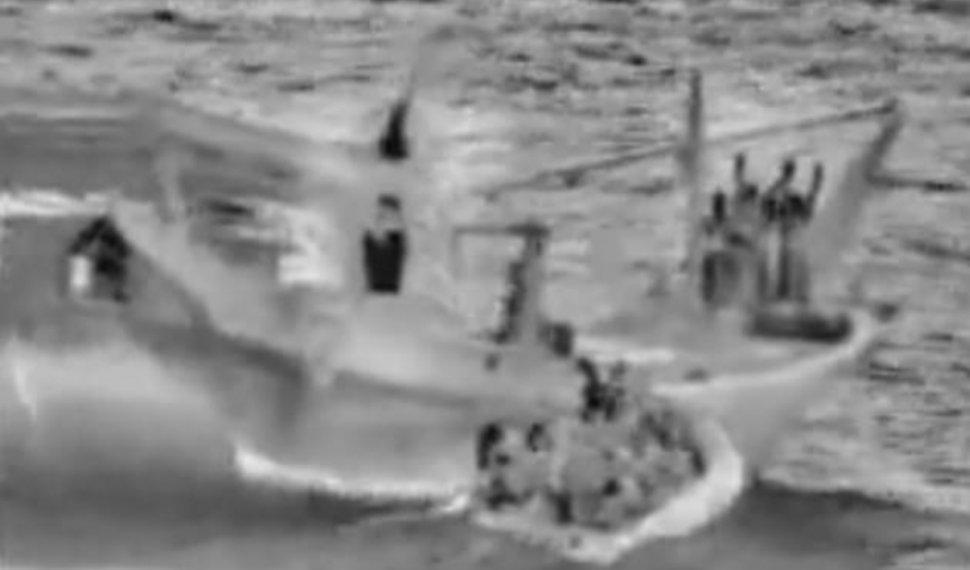 הספינה האיראנית שנשאה נשק | טוויטר
