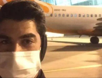 תומר זבולון, הישראלי שחולץ מסיןצילום: דוברות משרד החוץ
