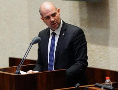 שר המשפטים אמיר אוחנה / צילום: עדינה וולמן- דוברות הכנסת