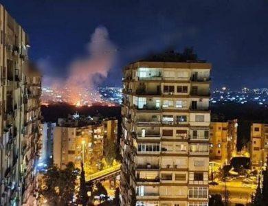 התקיפה בסוריה // צילום: ללא קרדיט