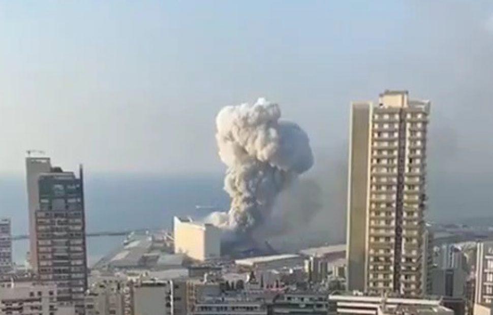 הפיצוץ בנמל ביירות יגרום לסחרור פוליטי | צילום מסך
