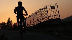 אדם רוכב על אופניו צילום: יוסי זמיר/פלאש90