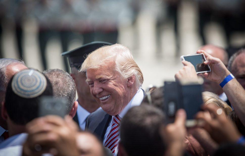 הנשיא טראמפ // צילום: Flash 90