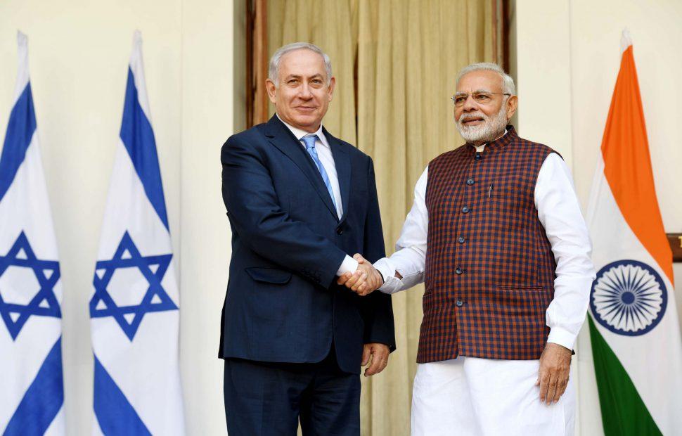 פגישת ראש הממשלה נתניהו עם נרנדה מודי ראש ממשלת הודו | אבי אוחיון
