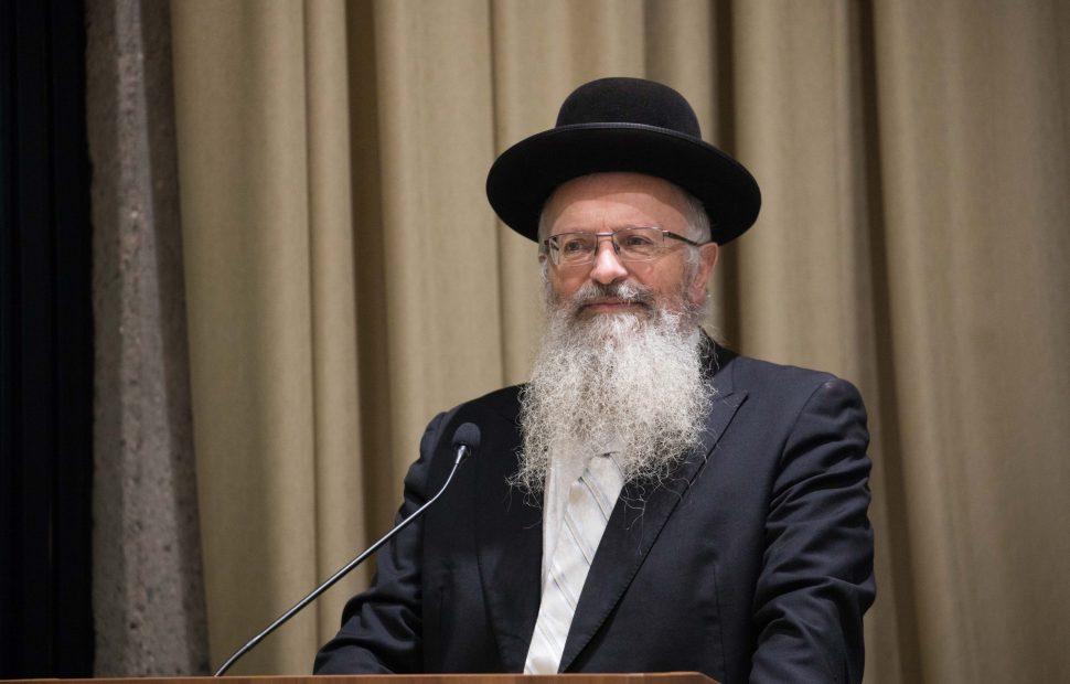 הרב שמואל אליהו | צילום: Yonatan Sindel/Flash90