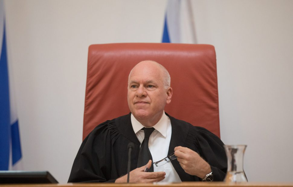 שופט העליון עוזי פוגלמן התלונן - צילום: יונתן סינדל