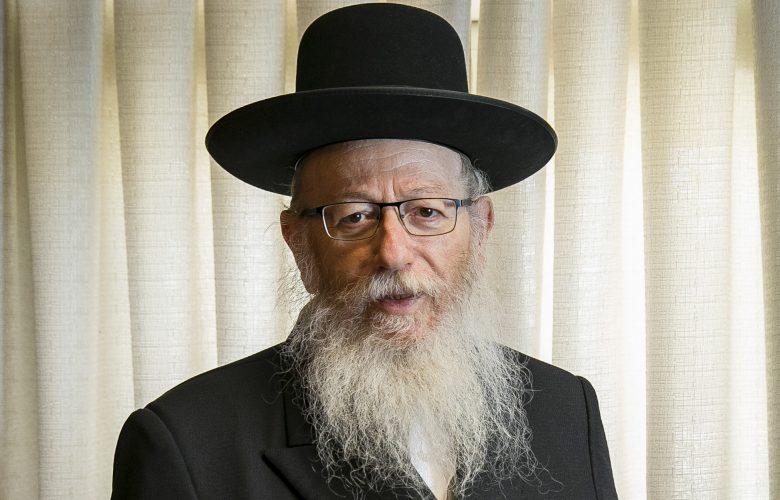 שר השיכון יעקב ליצמן // צילום: אוליביה פיטוסי - פלאש 90