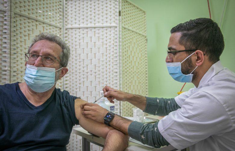 חיסון שני צילום יוסי אלוני / פלאש 90