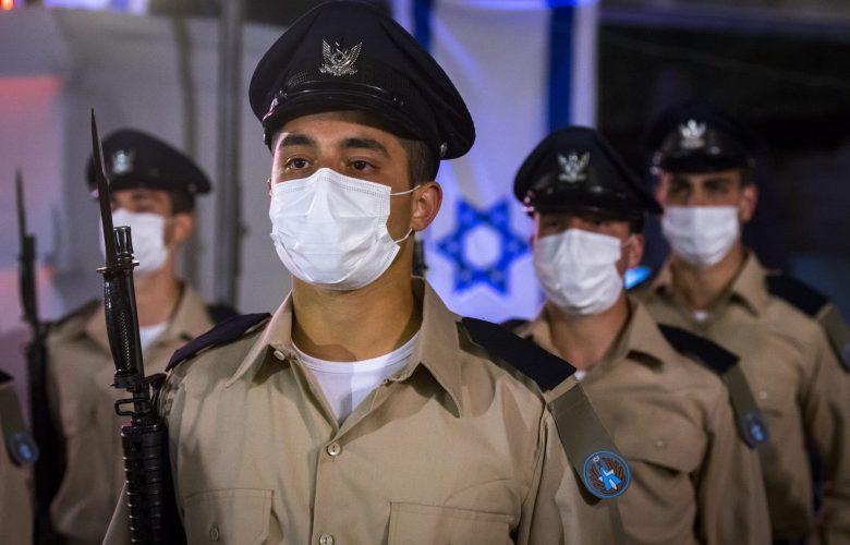 חיילי צה''ל בזמן קורונה. אילוסטרציה // צילום: פלאש 90