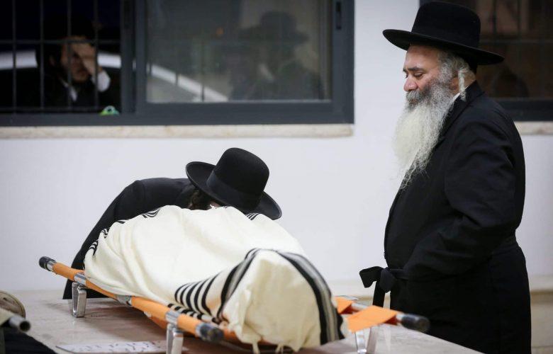 גופת אחד ההרוגים באסון מירון. אילוסטרציה // צילום: פלאש 90