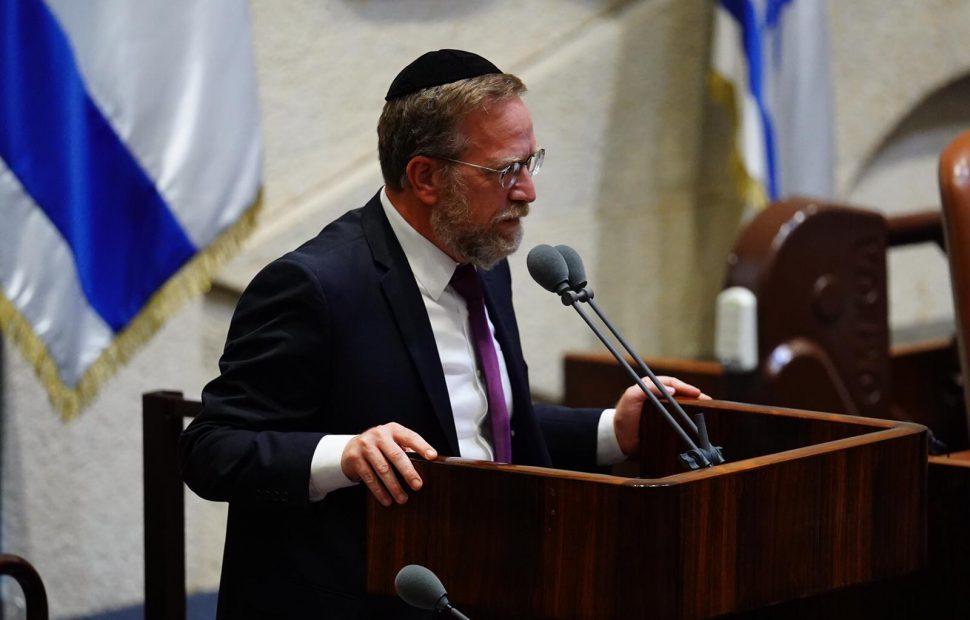 ח״כ יצחק פינדרוס // צילום: עדינה וולמן - דוברות הכנסת