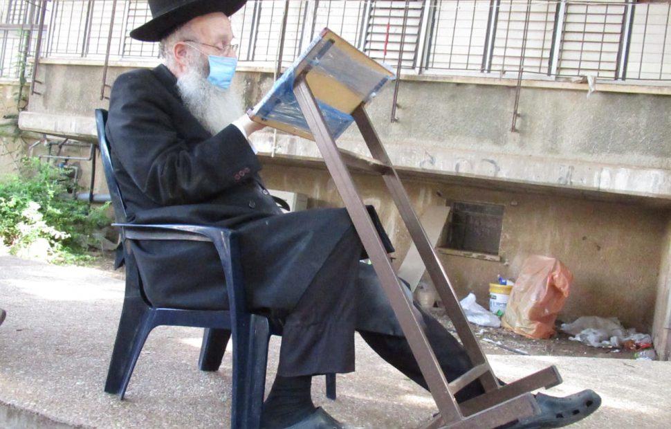 הרב יהודה אריה דינר צילום דוד קשת