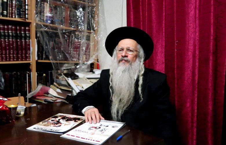 אביו של הנער שמעון הלר // צילום: ירחון התחדשות