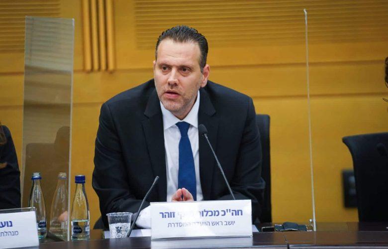 מיקי זוהר בראשות הוועדה המסדרת // צילום: שמעון מלכה, דוברות הכנסת