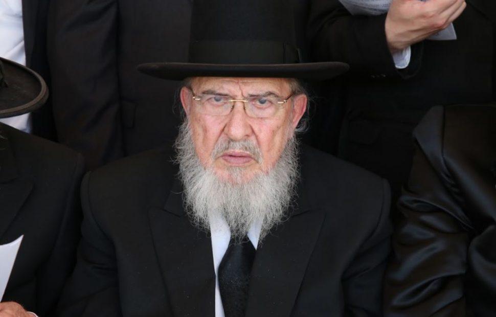 הרב אזרחי, צילום: ועד הרבנים