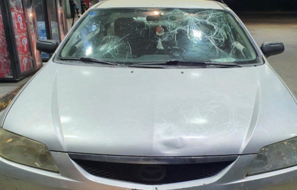 הרכב // צילום: מצלמות האבטחה