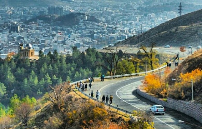 סננדאג, עיר ספר בצפון איראן   צילום: כלי תקשורת באיראן